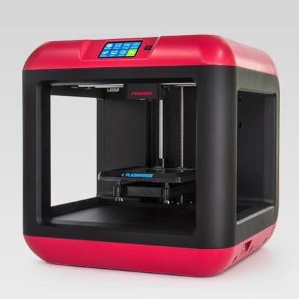 FlashForge Finder Impresora 3D, Color Negro y Rojo