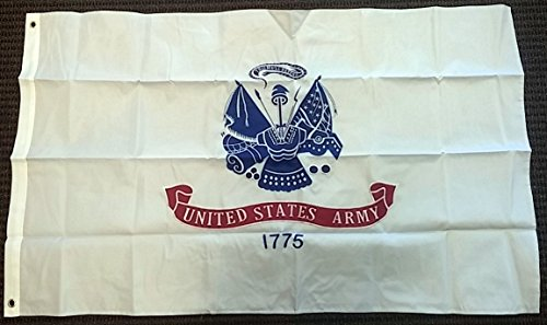 United States Army Logo Double Sided Nylon Embroidered 3x5 Foot Flag Banner USA -