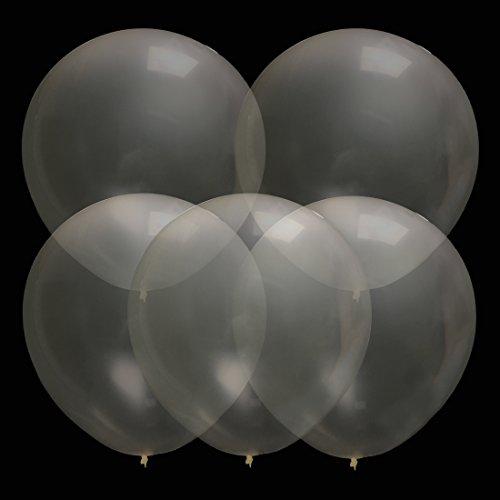 dbar Riese Latex Ballon Für Hochzeitsfest Festival Karneval Event Dekorationen Clear ()