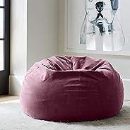 Regal In House relaxing bean bag velvet Large - Rosewood