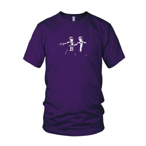 Time Fiction - Herren T-Shirt, Größe: XXL, Farbe: -