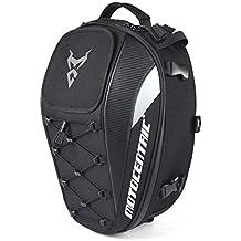 Funihut - Mochila Impermeable para Moto, con Espacio para el Casco, para Moto/