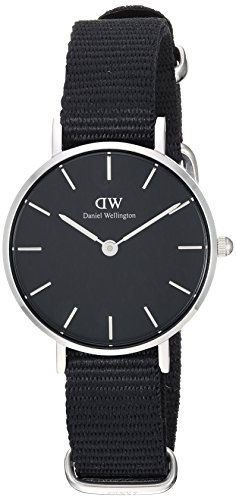 Daniel Wellington Unisex-Adult Analog Japanese-Quartz Watch with Nylon Strap DW00100248