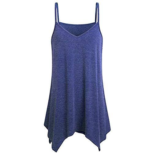 Bobopai Women Summer Vest Sleeveless V Neck Boho Floral Tank Tops Size 6-24 -