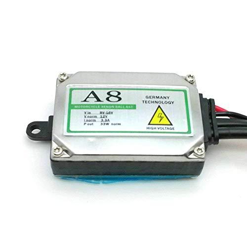 6000/K 8000/K da 12/V a corrente alternata lampadine di ricambio per fanali auto abbaglianti e anabbaglianti confezione da due fari bi-xenon da 35/W luminosit/à da 4300/K Heinmo H4-3