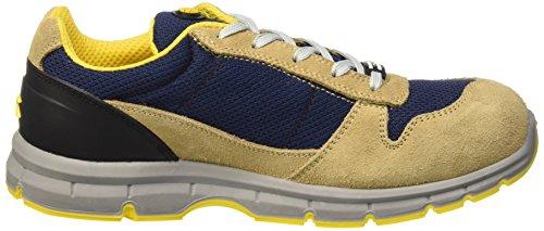 Diadora Unisex-Erwachsene Run Textile Low S1p Sicherheitsschuhe Gelb (Beige Corda/blu Maiolica)