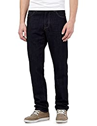 Red Herring Dark Blue Rinse Wash Straight Jeans