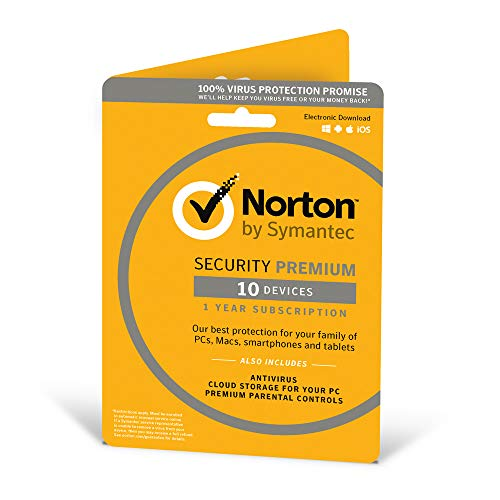 Norton Security Premium 3.0 - 10 Device 1 Year