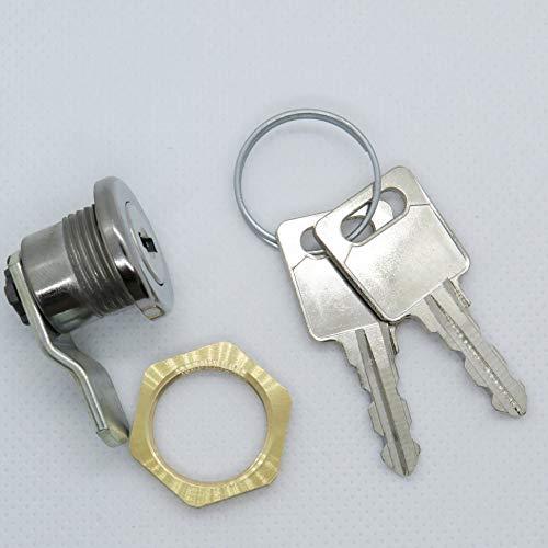 Preisvergleich Produktbild Briefkastenschloss passend für JU Briefkästen mit 2 Schlüsseln S-005
