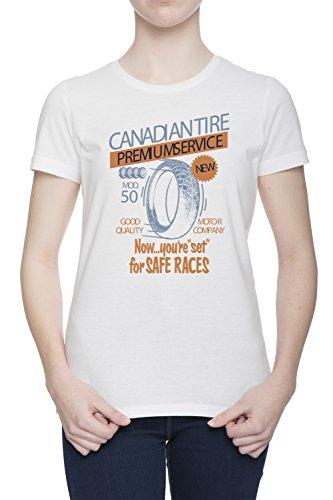 canadian-tire-premium-service-donna-bianco-t-shirt-tutte-le-taglie-womens-white-t-shirt-top