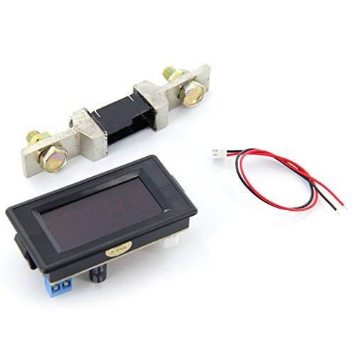 150a Amperemeter Mit Shunt 3 1.2 Digitalanzeige LED Rot Panel Amp Amperemeter AC / DC 12 V - 260 V (12v Ac-panel)