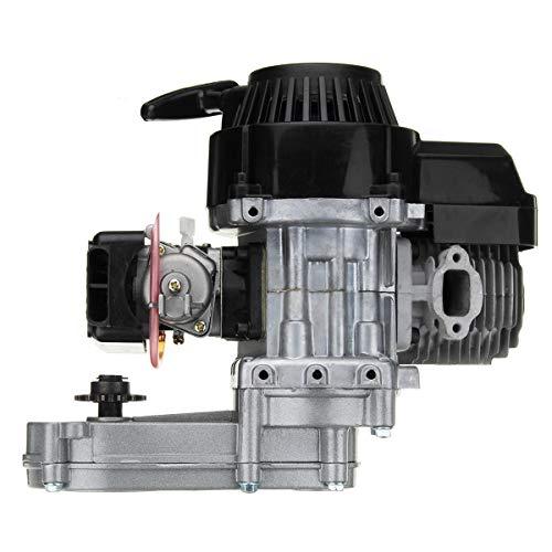 49cc 2-Takt Pull Start Motor Motor mit Getriebe Passend for Mini Pocket Bike ATV Scooter