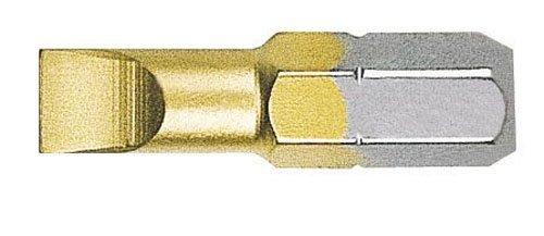 Witte 426431–Pack von 15Bits Schraubendreher Schlitz, 4,5x 25mm, in Box, mit titanium-Nitrid Beschichtung