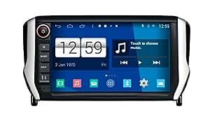 roverone syst me android 8 pouces autoradio gps pour peugeot 208 2008 2014 2015 avec navigation. Black Bedroom Furniture Sets. Home Design Ideas