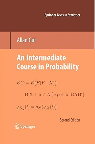 An Intermediate Course in Probability (Springer Texts in Statistics) by Allan Gut (2009-06-23)