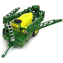 Britains - John Deere R962I pulverizador de arrastre, color verde, amarillo y negro (TOMY 42909)