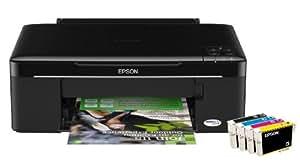 Epson Stylus SX125 Multifunktionsgerät (3 in 1, Drucken, Scannen, Kopieren)