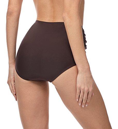 Merry Style Damen Bikinislip MS10-119 Braun (8157)