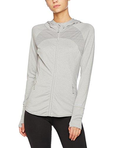 Bench Damen Mesh Panel Act. Zip Through Trainingsjacke Mid Grey Marl XL Preisvergleich