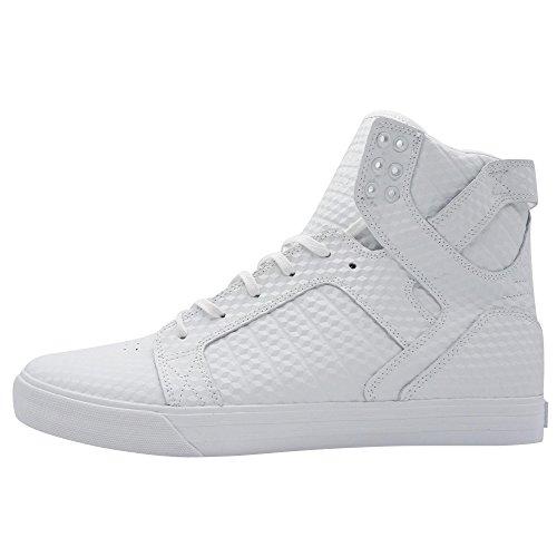 Supra Skytop Classic Herren High Top Sneaker Weiß Übergrößen, Größe:48.5 (Jim Greco Supra)
