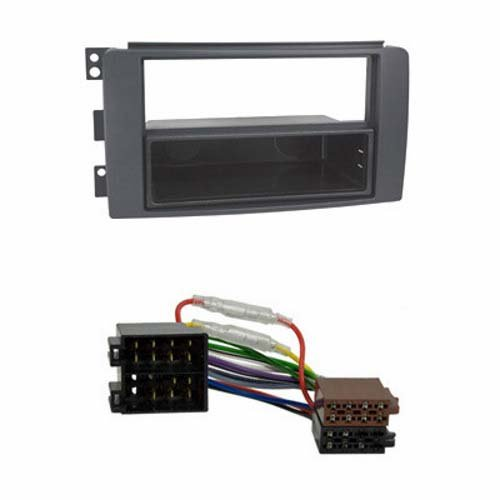 Baseline Connect Radioeinbause, anthrazit,schwarz mit ISO Kabel