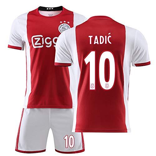 MalataMall Camiseta De Fútbol, 10# Tadic AJAX Club Jersey, Uniforme De Fútbol para Niños