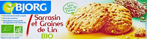 Bjorg Biscuits Sarrasin et Lin Bio 125 g