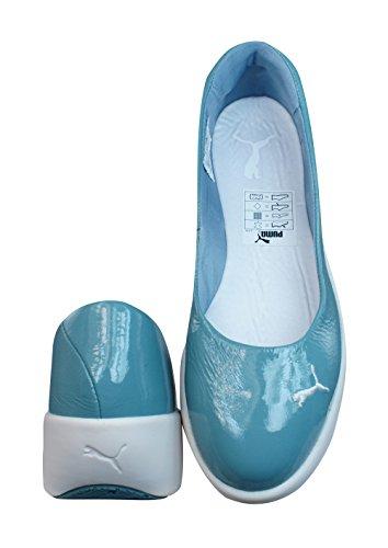 Puma GV Spadrille Womens Patent Chaussures en cuir / Sandales Bleu