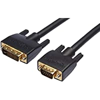امازون بيسكس كابل DVI-I الى VGA اسود، 10 قدم