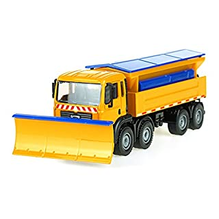 Unbekannt FEI Babyspielzeug Alu Schaufel Schnee Auto Modell 1:50 Schaufeln Schnee Auto Schneeräumung Spezialoperationen Frühe Erziehung