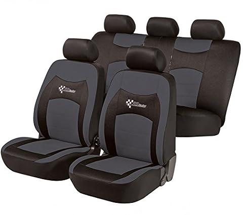 Ford C-Max, Housse siege auto, kit complet, noir, gris