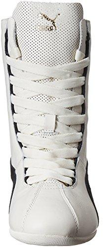 Puma Damen Eskiva Hi Sneaker Weiß - Blanc (Whisper White/Black)