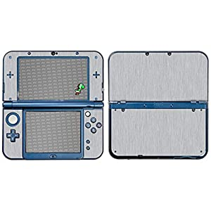 atFoliX Skin kompatibel mit Nintendo New 3DS XL 2015, Designfolie Sticker (FX-Glitter-Orange-Juice), Reflektierende…