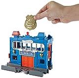 Hot Wheels FRH33 City Gefängnisausbruch Set, Polizei Spielset inkl. 1 Spielzeugauto, ab 4 Jahren