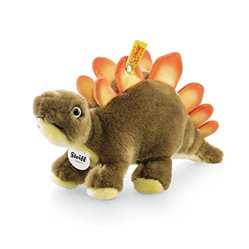 Preisvergleich Produktbild Steiff 066863 - Siggi Stegosaurus 30 stehend, braun/gelb