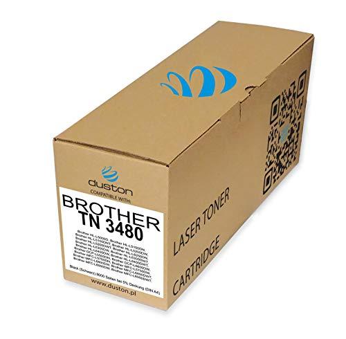 Toner nero TN3480 compatibile con Brother DCP-L5500 L6600 HL-L5000 L5100 L5200 L6250 L6300 L6400 MFC-L5700 L5750 L6800 L6900