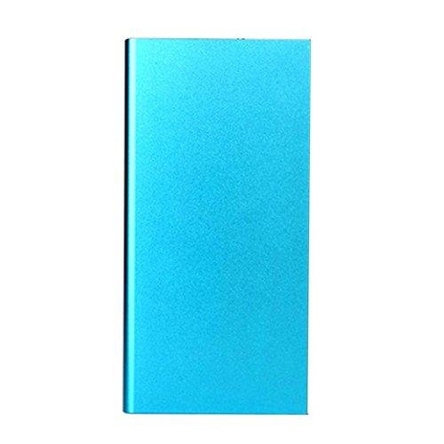 COLORFUL (TM) 20000mAh Portable USB externes Ladegerät Power Bank für iPhone ,iPad 2 3 4 Mini Air, iPod, Samsung, Blackberry, Mp3 ,Mp4 ,PSP etc. (Blau)