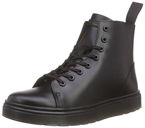 Dr. Martens Herren Talib Brando Black Combat Boots, Schwarz (Black Brando), 44 EU -