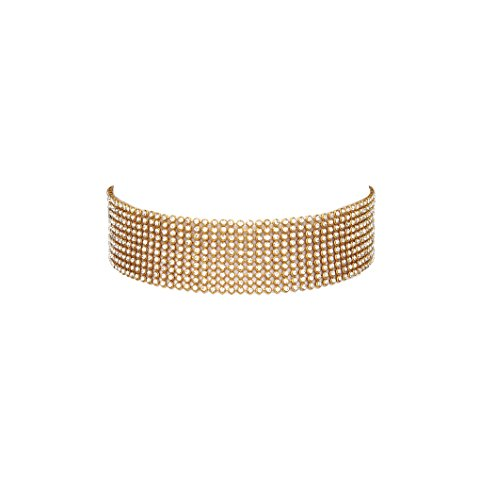Bellofox Choker Necklace for Women (Golden)(BN1362)