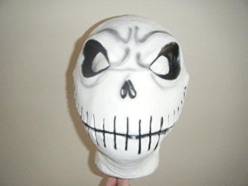 (WRESTLING MASKS UK Nightmare Bevor Weihnachten - Deluxe Latex Universal Maske)