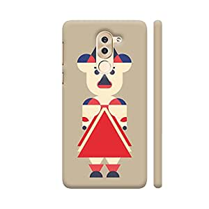 Colorpur Woman Kid Unique Geometric Printed Back Case Cover for Honor 6X