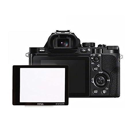 0,5mm FOTGA Displayschutzglas Displayschutzfolie für LCD Display Sony A7 A7R A7S