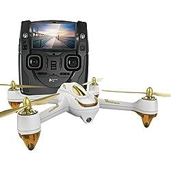 Hubsan H501S X4 Brushless Quadcopter Drone RC FPV Transmisor GPS 1080p HD Cámara Cuadricóptero (Blanco)