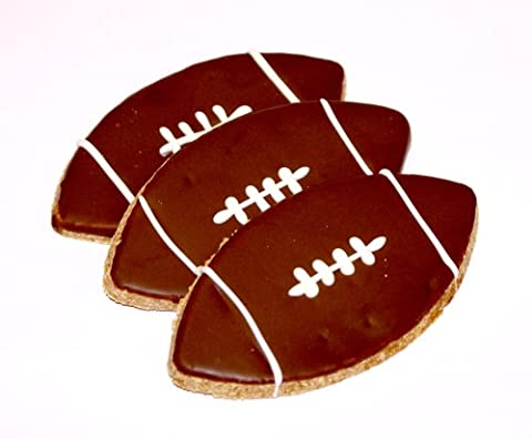 Pawsitively Gourmet Football Cookies For Dogs-Chicken Liver Recipe (Pack Of
