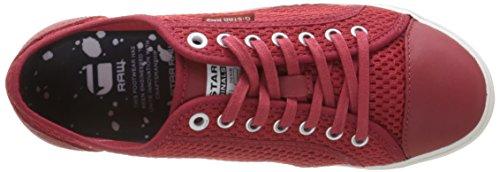 G-STARMagg Lo - Scarpe da Ginnastica Basse Donna Rosso (rosso)