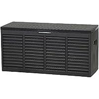 H.G. NN 12001226 - Banco de almacenamiento, color negro