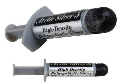 Arctic Silver 7g Premium Silver Thermal Cooling Adhesive Set ASTA-7G