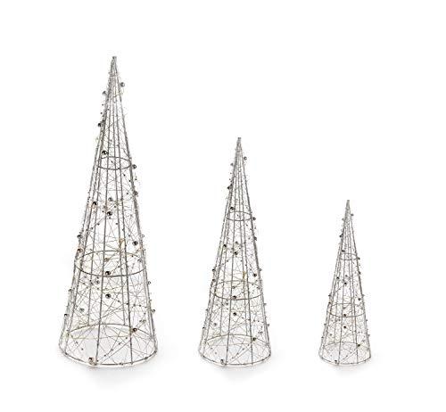 Weihnachtsbeleuchtung Kegel.Sammeln Seltenes Weihnachtsbeleuchtung Mit Netzstecker Kegel Gold