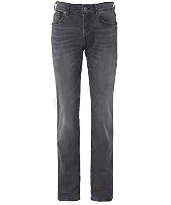 BOSS Hugo Boss Regular Fit Maine 3 Jeans Grey
