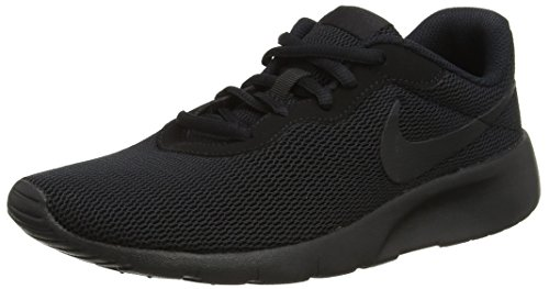Nike Herren Tanjun (GS) Laufschuhe, Schwarz, 39 EU (Sneakers Jungen Gs)